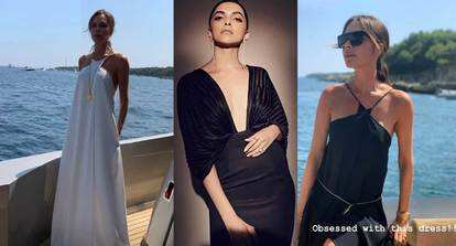 Deepika Padukone Has Her Eyes Set On Fashion Designer Victoria Beckham S Closet Writes I Want This Dress Hindi Movie News Bollywood Times Of India