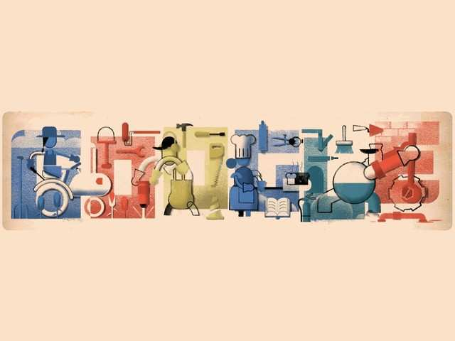Google celebrates Labor Day with a special doodle
