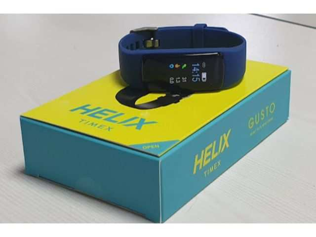 Timex Helix Gusto fitness band: First impressions