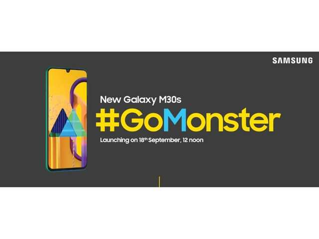 Samsung Galaxy M30s to launch in India on September 18, will be available on Amazon