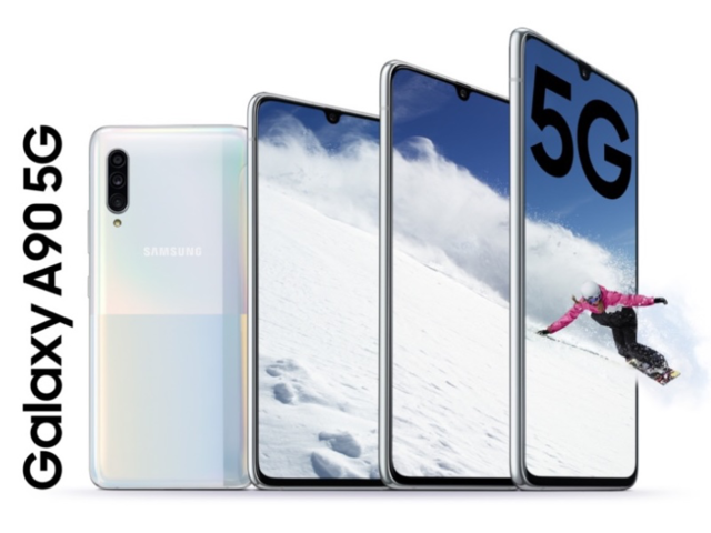 Samsung launches its third 5G smartphone, Galaxy A90 5G in South Korea