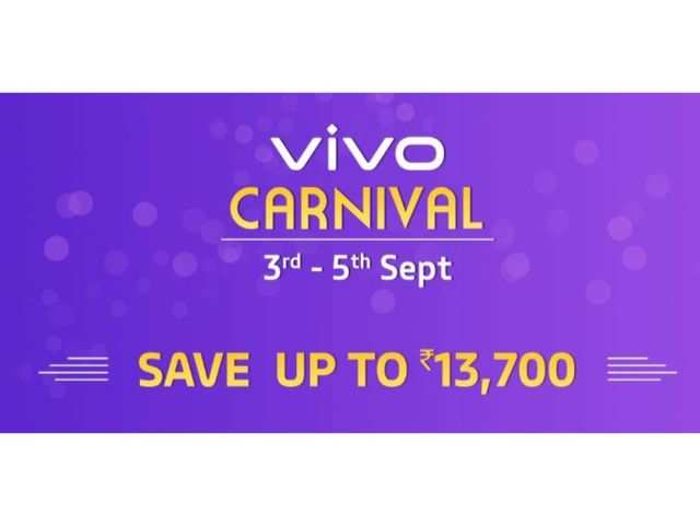 Vivo Carnival on Amazon: Up to Rs 13,700 off on Vivo S1, Vivo V15 Pro,Vivo V15 and more