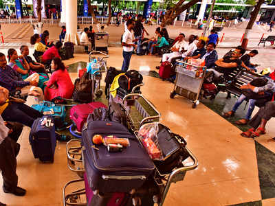 Pune airport sees slide in international flyers, services in
