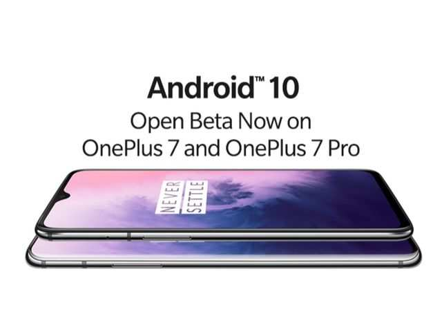 OnePlus 7 and OnePlus 7 Pro get Android 10 open Beta