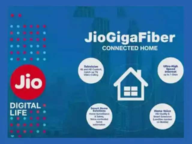 Reliance Jio rolls out JioFiber broadband service