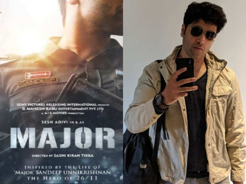 Adivi Sesh's Major to release in Hindi | Telugu Movie News - Times of India