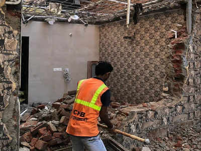 Chandigarh Housing Board demolishes two illegal structures
