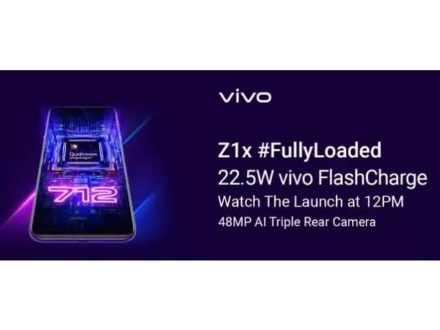 Vivo Z1x to launch in India today: How to watch the livestream