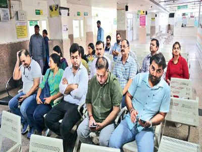 Doctors stage protest at Panchkula Sector 6 hospital seeking