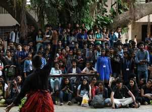LGBTQIA+ themed prelims for St. Joseph's annual intra-college fest, Prathibha