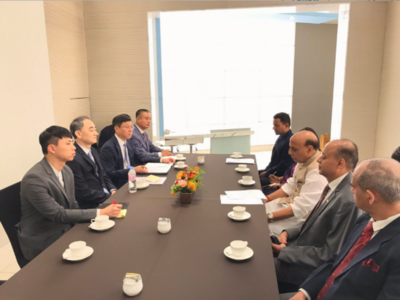 Rajnath Singh meets South Korea's DAPA chief, attends CEO