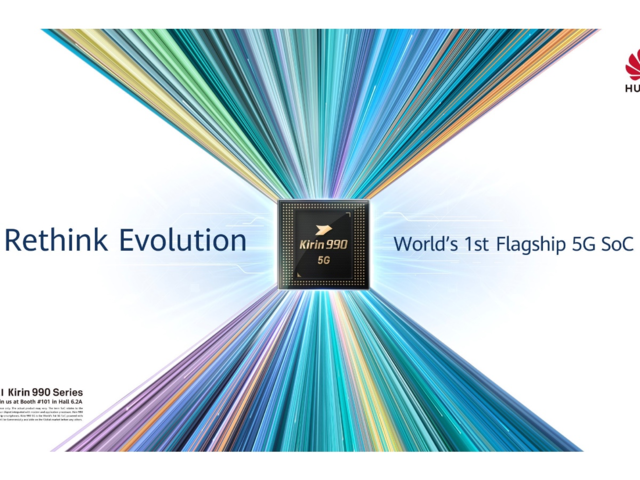 IFA 2019: Huawei launches Kirin 990 processor with built-in 5G modem, may power Mate 30 handsets
