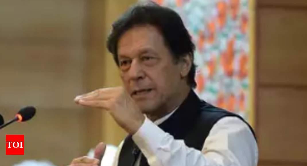 Kashmir is 'Pak's jugular vein', says Imran - Times of India