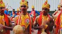 Ganeshotsav festivities witness dressed up dhol bands