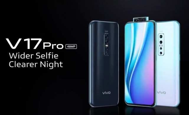 Vivo V17 Pro with dual pop-up selfie camera, 48MP quad-camera setup to launch in India soon