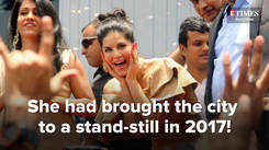 Sunny Leone is back in Kochi