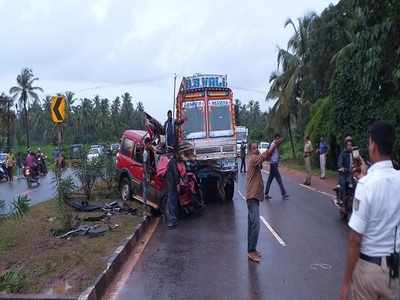 Mumbai-Kochi NH accident: Death toll goes up to 3
