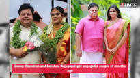BB Malayalam contestants enjoy a reunion at Anoop Chandran's wedding reception