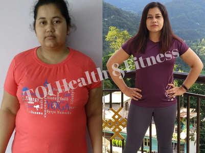 Weight loss story: At 94 kilos I couldn't walk!