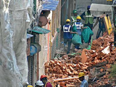 KMRC starts dismantling buildings ahead of full-scale