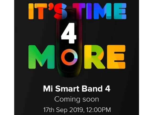 Xiaomi teases Mi Band 4 on Amazon, reveals India launch date