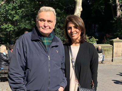 Rishi Kapoor's journey of batting cancer