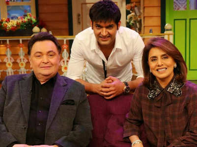 Kapil's tweet on Rishi Kapoor's return