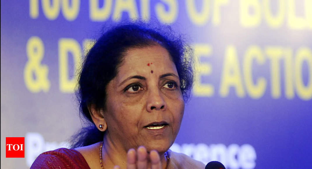 Millennial mindset of using app-based cabs adversely affecting auto sector: Nirmala Sitharaman -