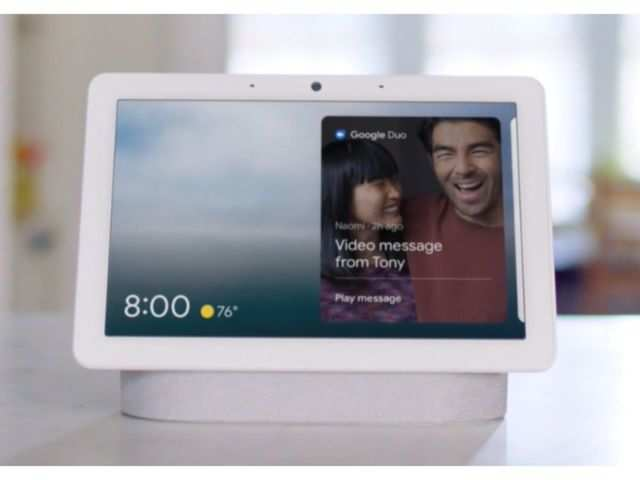 Google Nest Hub Max with face recognition feature goes on sale in the US