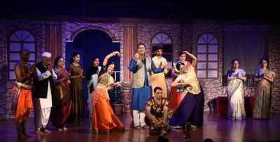 Musical Dance Drama Rangla Sur Painjanacha Captivates Audience Nagpur News Times Of India