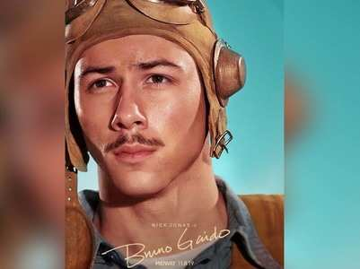 Nick Jonas shares his look as 'Bruno P. Gaido' from 'Midway'