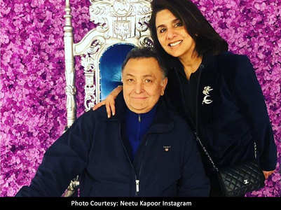 Neetu Kapoor's rock steady support to Rishi