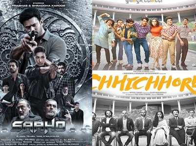 Box Office: A good Tuesday for 'Chhichhore' and 'Saaho'