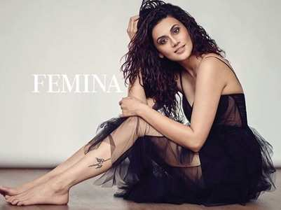 Taapsee looks enthrall in latest Femina shoot