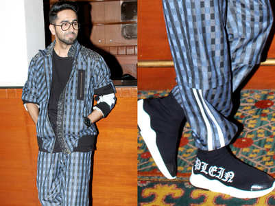 Guess the price of Ayushmann's sneakers