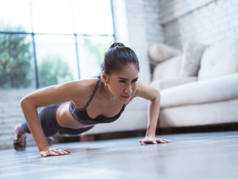 How many push-ups should you do in a day? - Times of India