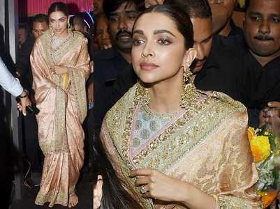 Photos: Deepika Padukone at Lalbaugcha Raja