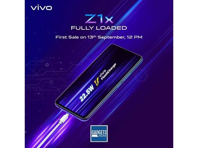 Vivo Z1x with 4500mAh battery, launched at Rs 16,990, to go on first sale on September 13 via Flipkart
