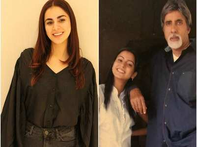 Shraddha Arya's throwback picture with Big B