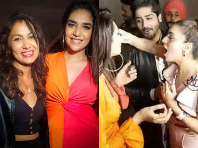 Celebs attended Anjum's bday party