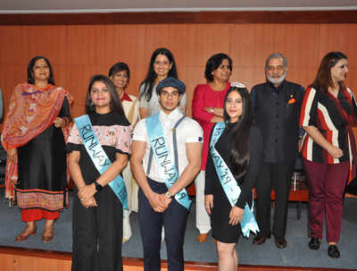 Noida students present eco-friendly fashion show