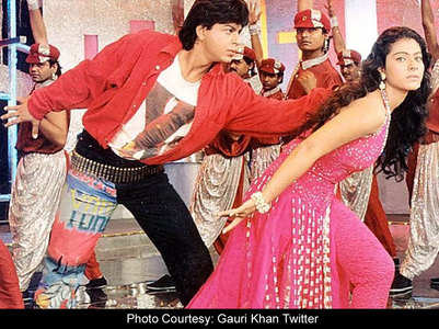 Gauri takes credit for SRK's 'Baazigar' look