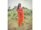 Rani Chatterjee shares her desi look from the sets of 'Lady Singham'