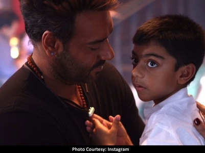 How Yug Devgn follows papa Ajay's footsteps