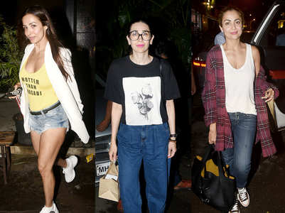 Pic: Karisma's dinner date with BFF Malaika