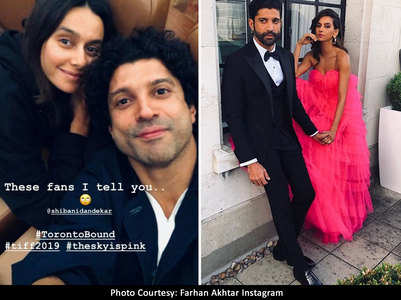 Farhan shares selfie with his 'fan' Shibani