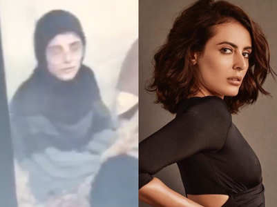 Mandana's throwback video wearing hijab