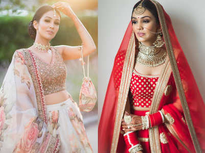 You can't miss this bride's BEAUTIFUL Sabyasachi lehengas!