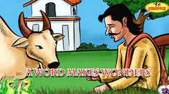 Children English Nursery Story 'A Word Makes Wonders | Merchant and Young Bull Story' - Kids Nursery Stories In English