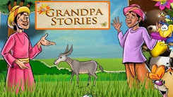 Children English Nursery Story 'Grandpa Stories | The Farmer And His Donkey' - Kids Nursery Stories In English